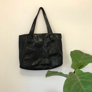 Hobo Black Leather Tote